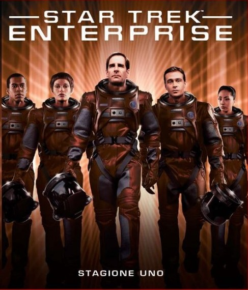 star trek enterprise stagione 1 blu-ray cover italiana