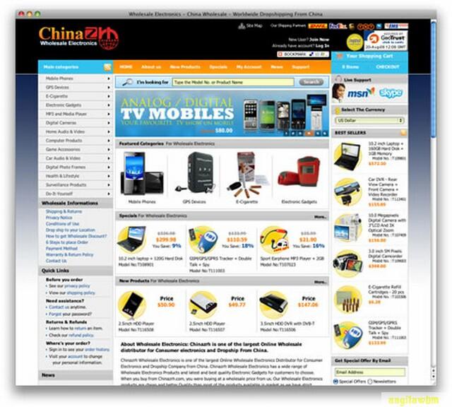 screen1 045 Páginas web para comprar barato en CHINA