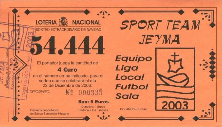 Lotería de Navidad 2006