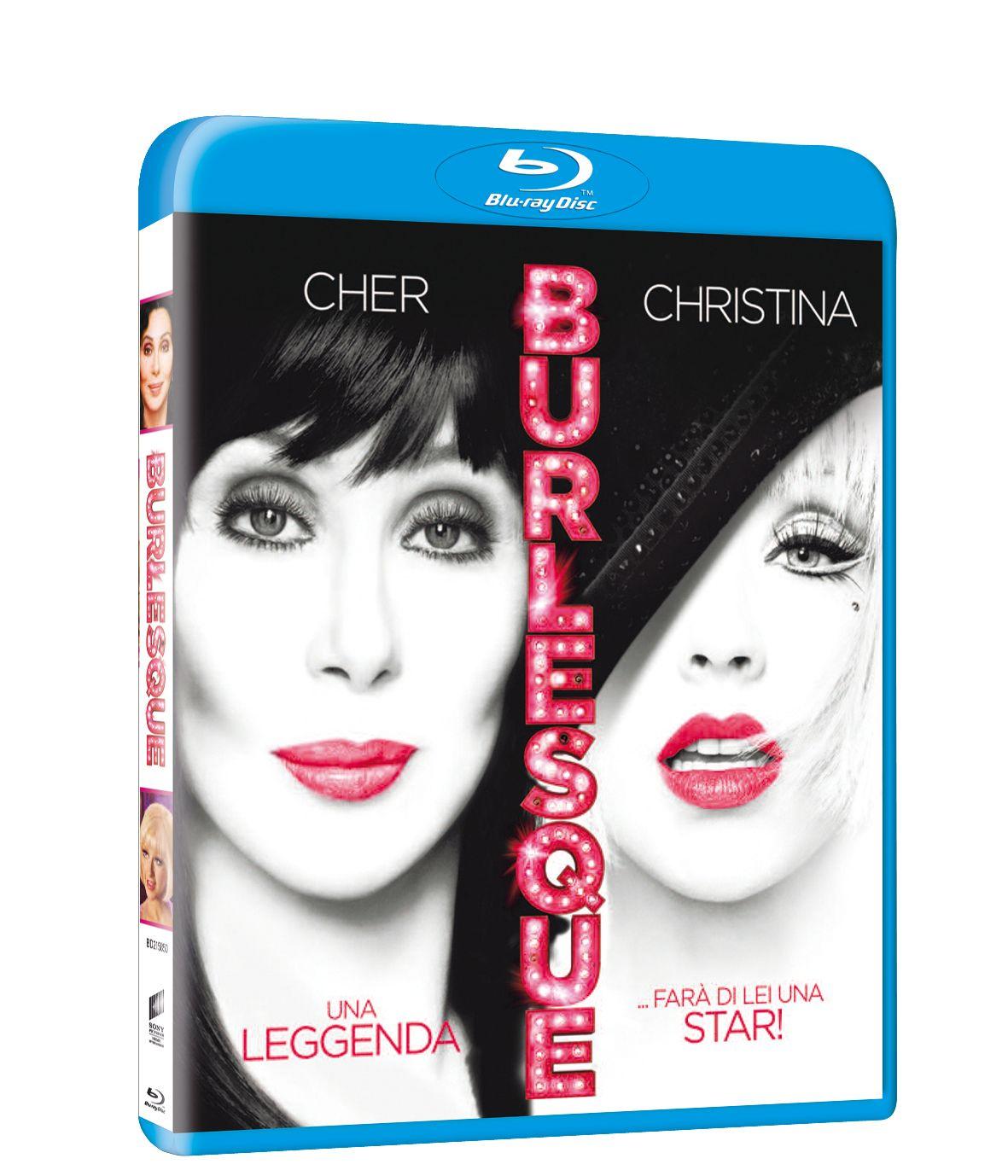 Burlesque Blu-Ray Copertina Ita