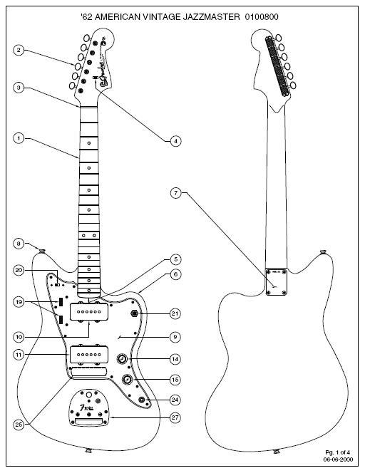 Planos y Circuitos de Fender