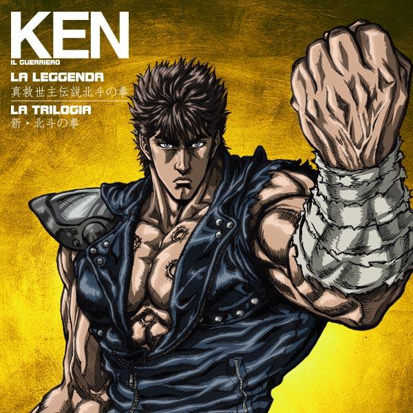 Ken il Guerriero edicola gazzetta dello sport