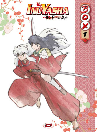 Inuyasha final act box 1