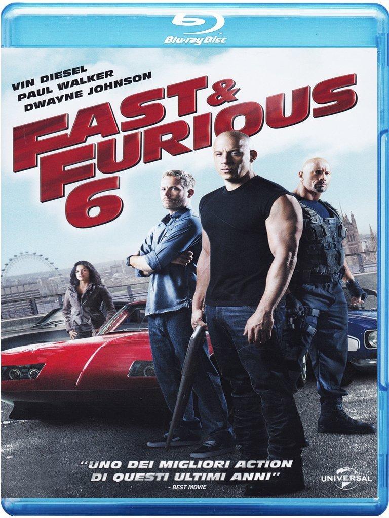 fast & Furious 6 Blu-Ray