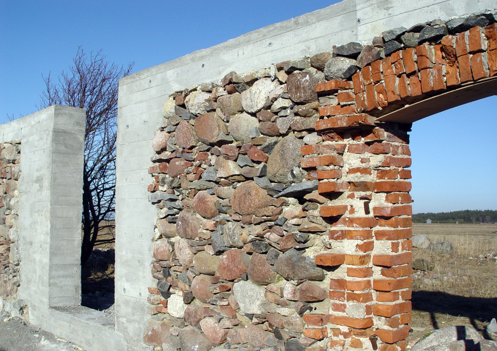 House_of_Ruins_Drupas,NRJA, architecture, house