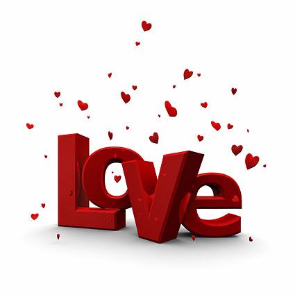 Valentine Typography Design
