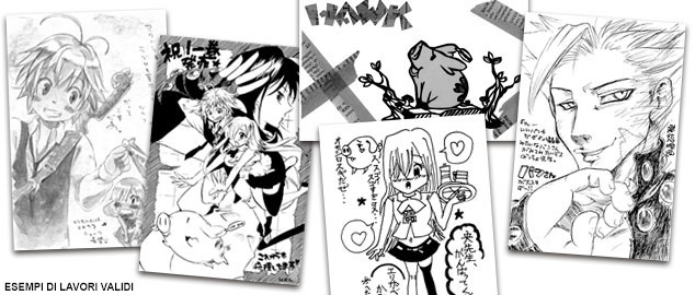 GRANDE CONCORSO THE SEVEN DEADLY SINS!