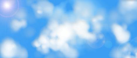 Photoshop(フォトショップ)で自然な雲を描く方法