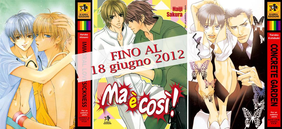 Ronin manga kappa edizione offerta boys love