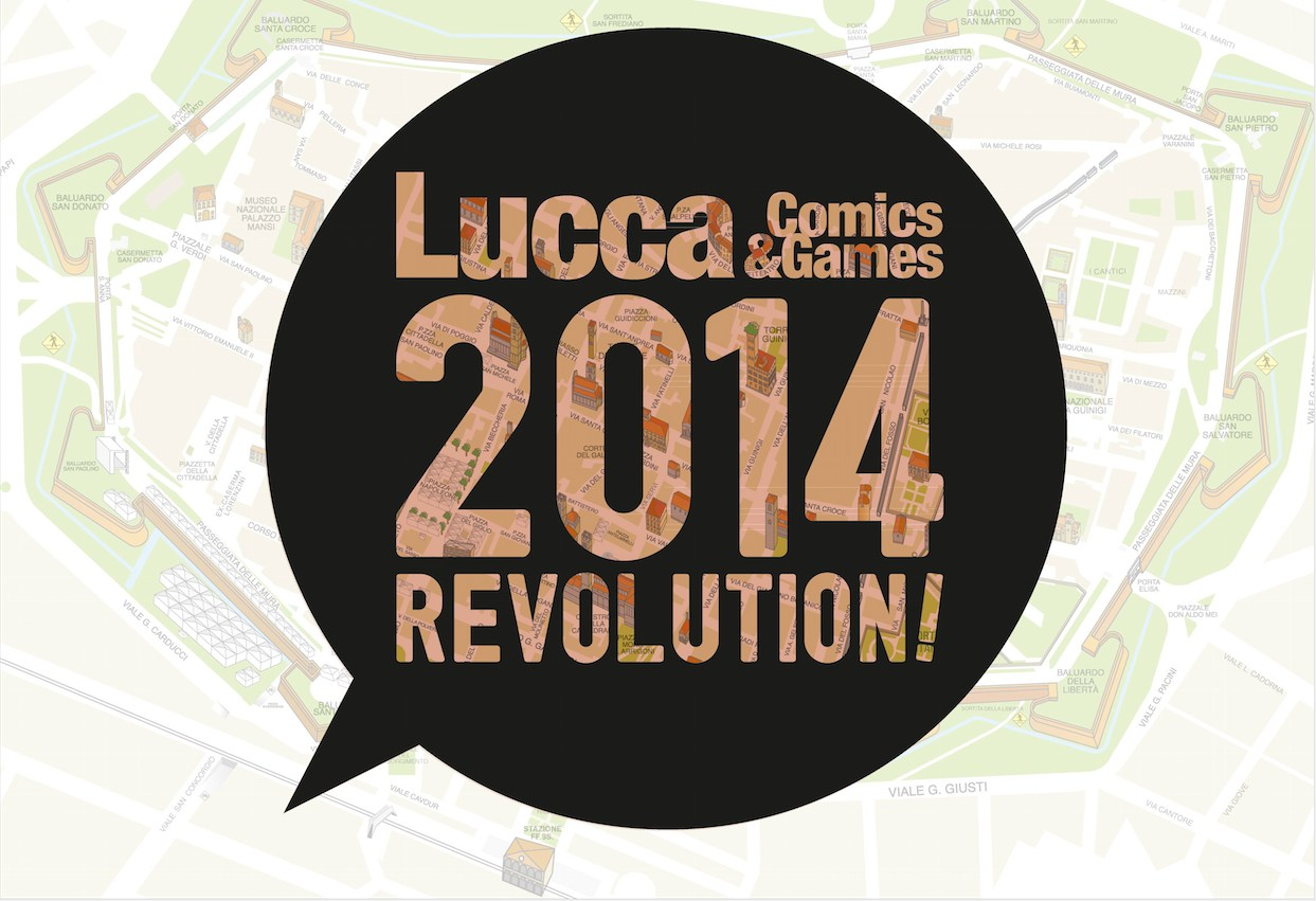 lucca comics and games 2014 logo