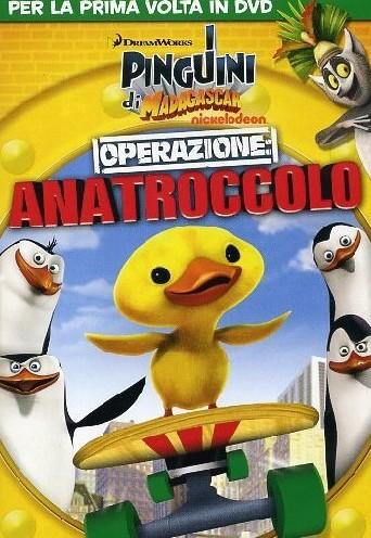 Pinguini di Madagascar, operazione anatroccolo, dvd, cover