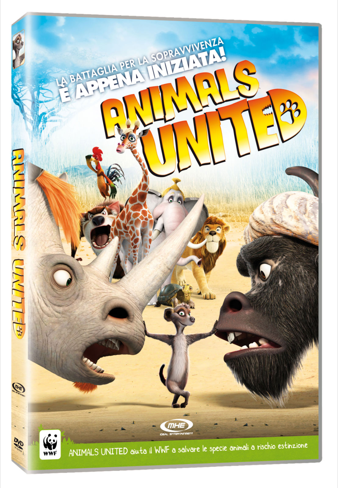 Animals United Copertina DVD