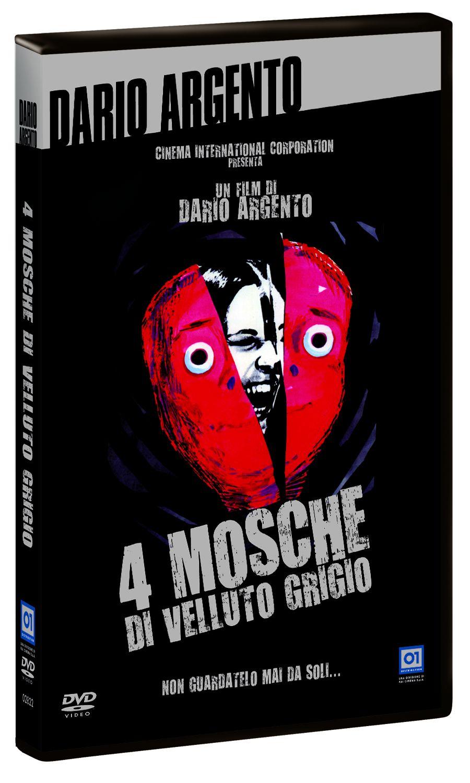 4 mosche di velluto grigio dvd italiano