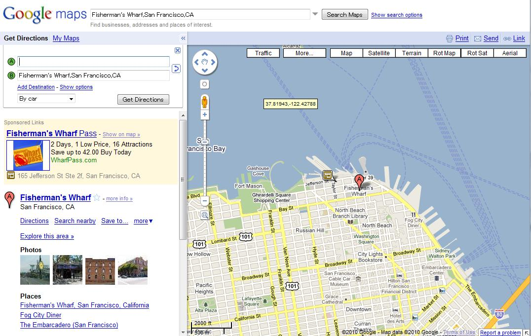 Google Mapsに自転車ルート探索の ...