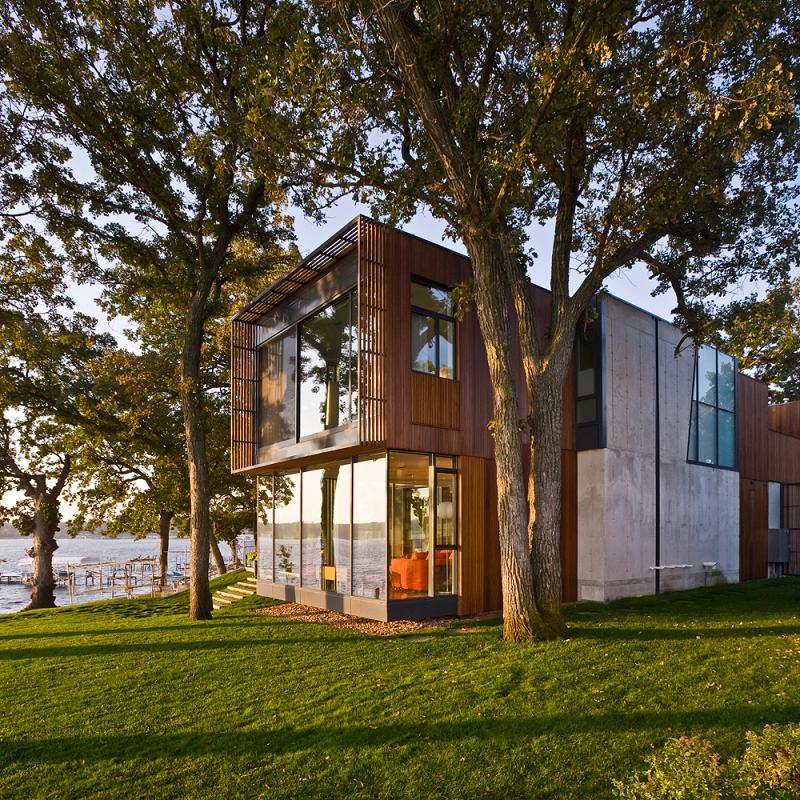 Casa en Lago Okoboji - Min Day, Arquitectura, diseño, casas