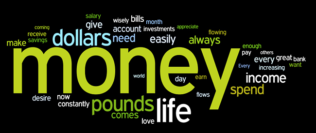 money affirmations wordle