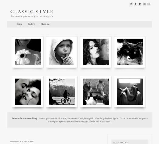 plantilla Classic Style para BLogger
