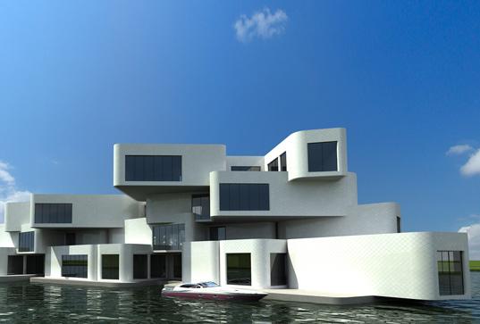Vivienda-Colectiva, Citadel, Arquitectura, diseño, Housing