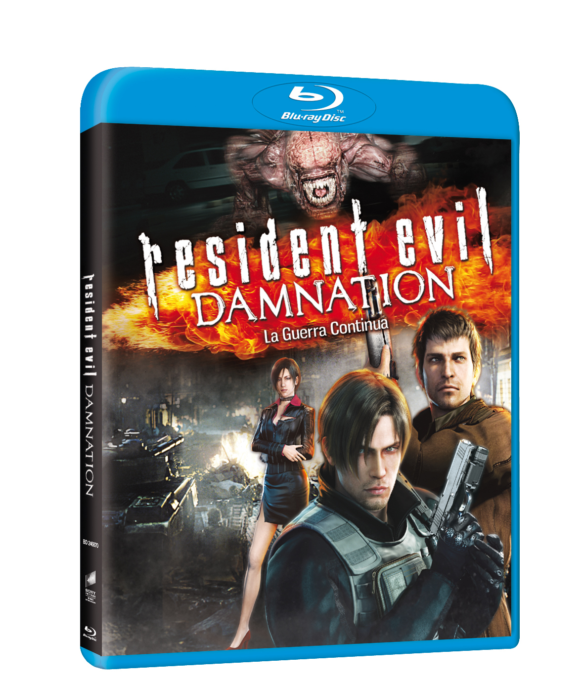 Resident evil damnation blu-ray
