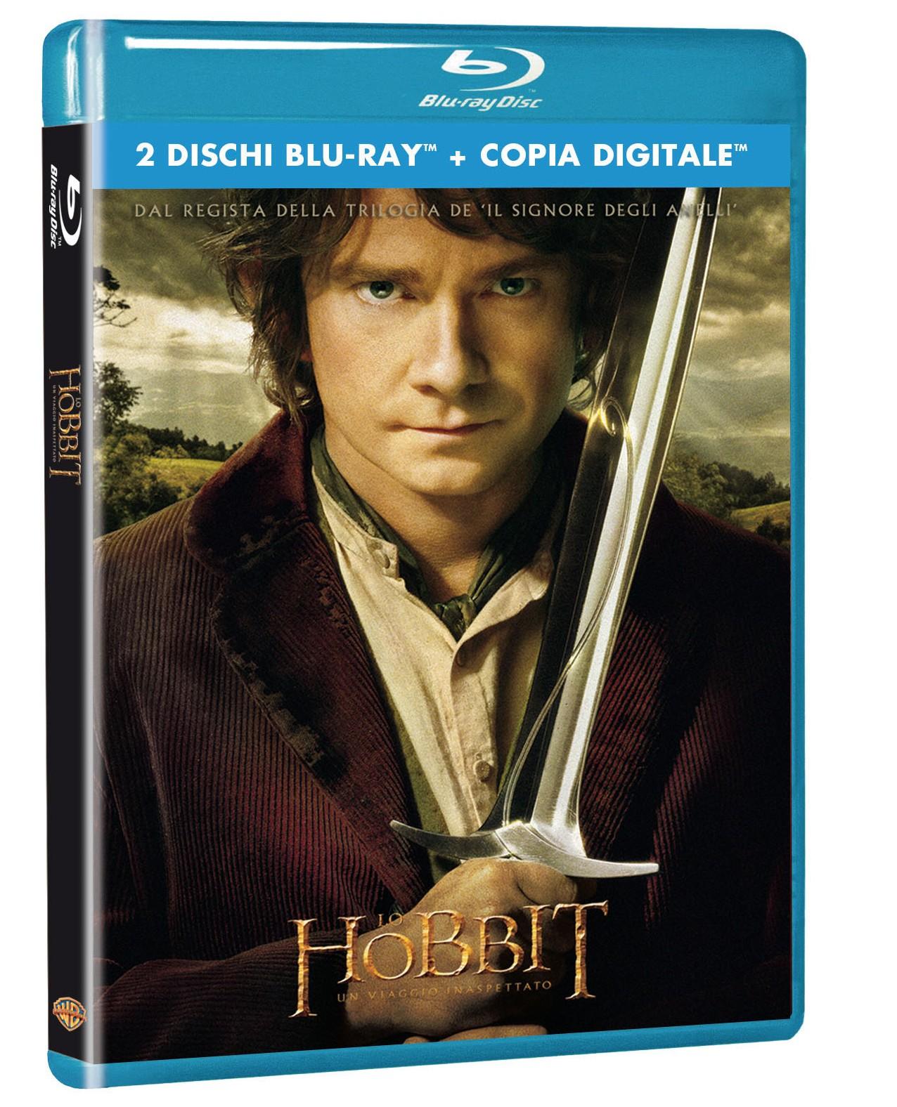 hobbit viaggio inaspettato blu-ray