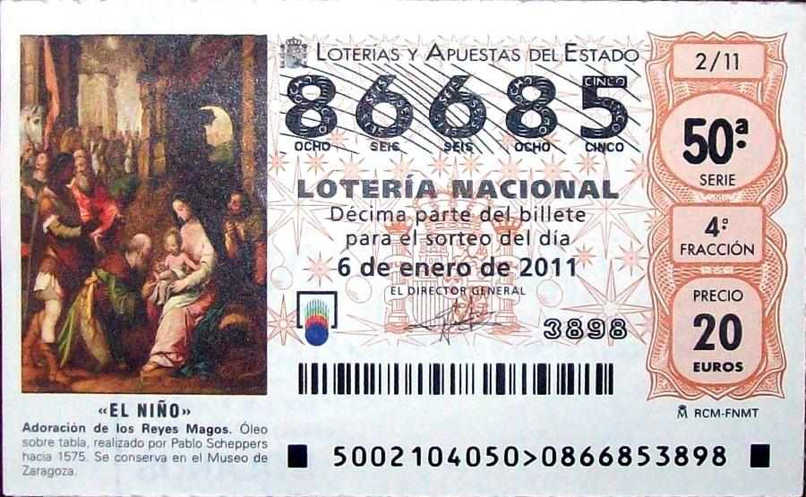 Lotería del Niño 2011