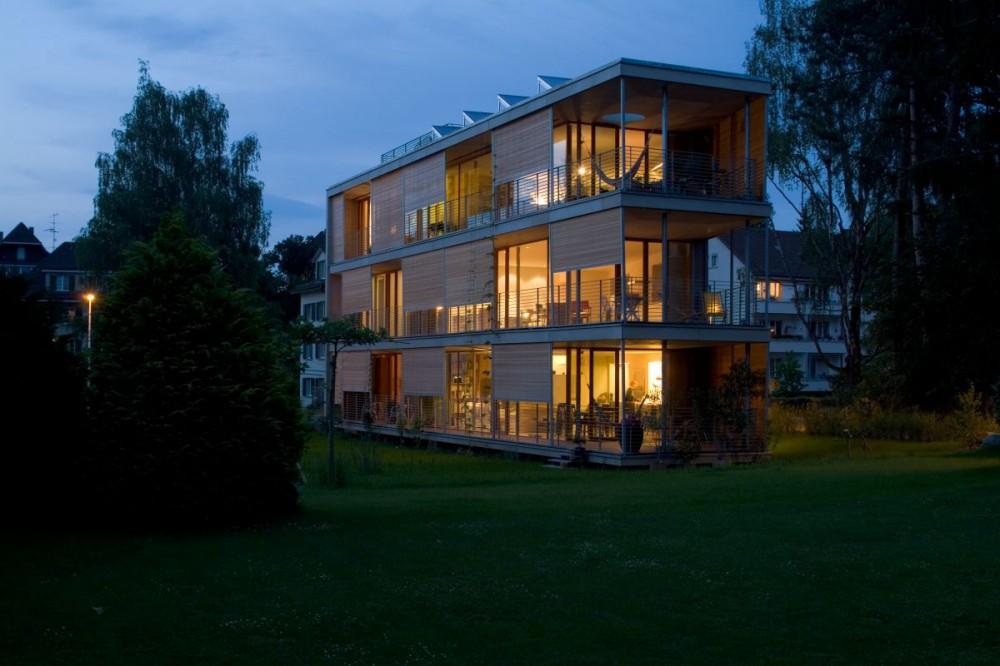 Vivienda Colectiva, Edificio Gebhartstrasse - Halle 58 Architekten, Arquitectura, diseño, casas
