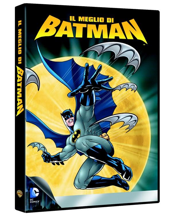il meglio di batman animazione dvd