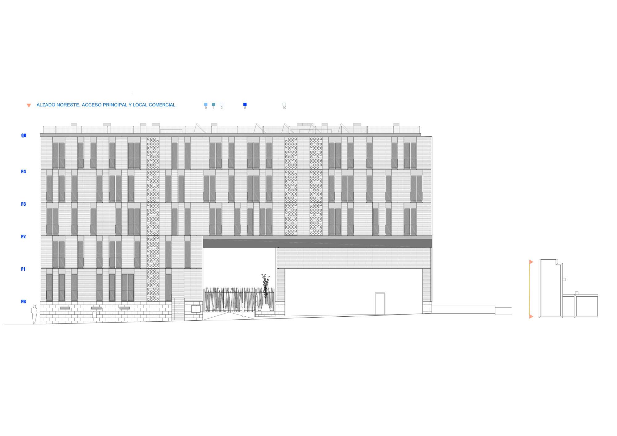 Vivienda Colectiva, Vallecas 11, SOMOS Arquitectos, arquitectura, casas