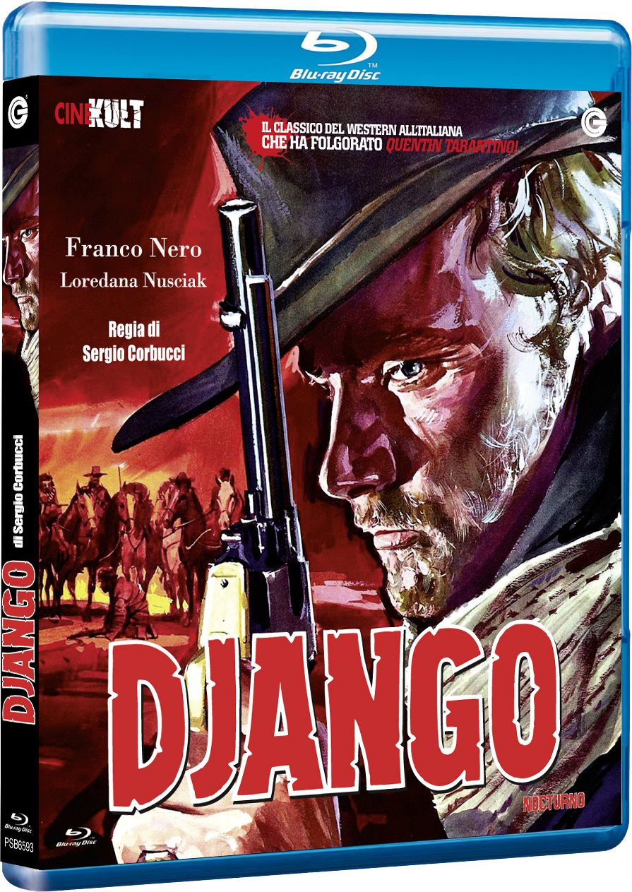 Django corbucci franco nero blu-ray
