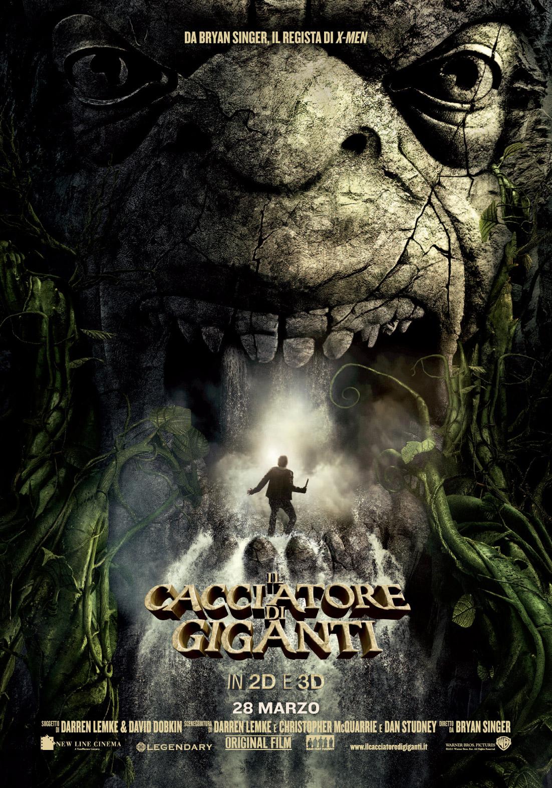 Il cacciatore di giganti locandina italiana