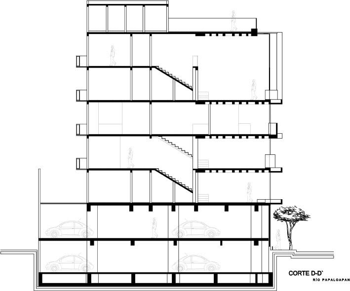 Edificio Rio Papaloapan - Taller 13 Arquitectos