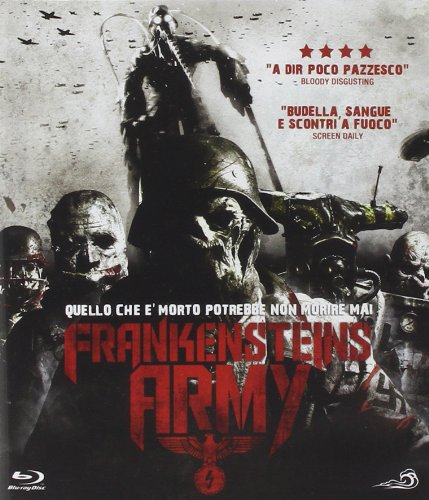frankenstein's army blu-ray