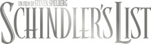 schindler's list logo