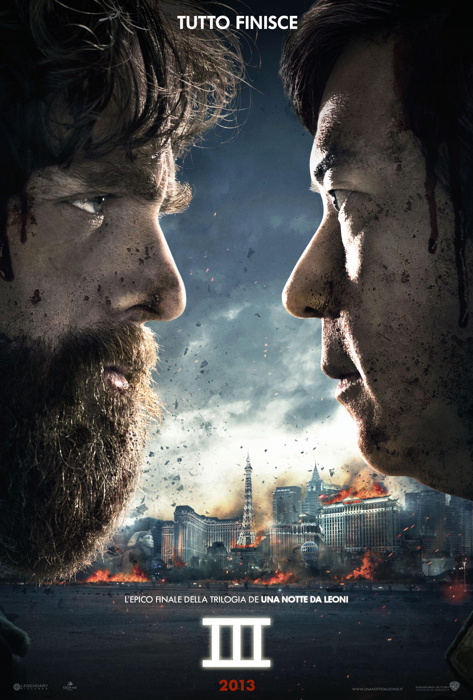 Una notte da leoni 3 teaserr poster italiano