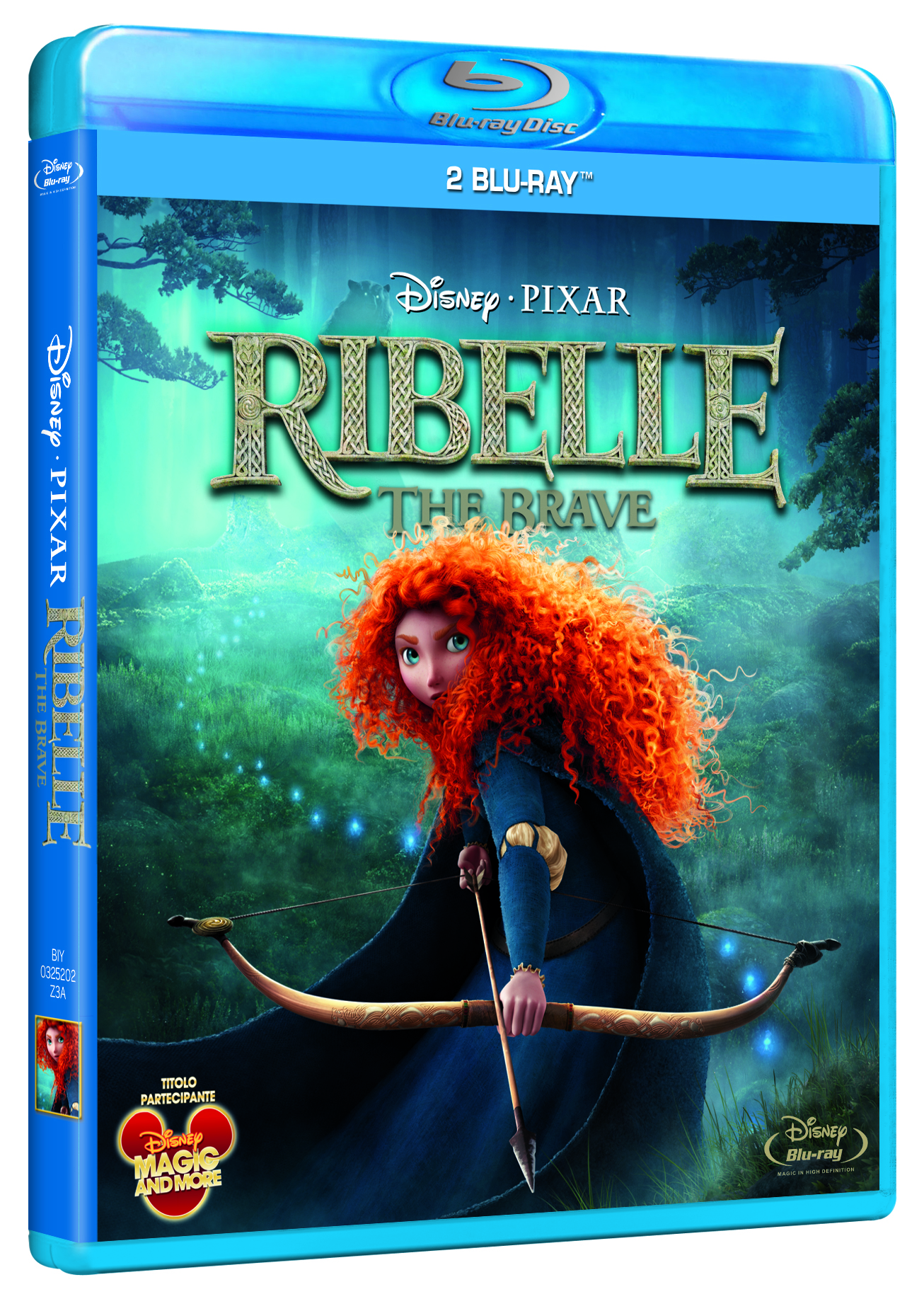 Ribelle the brave blu-ray