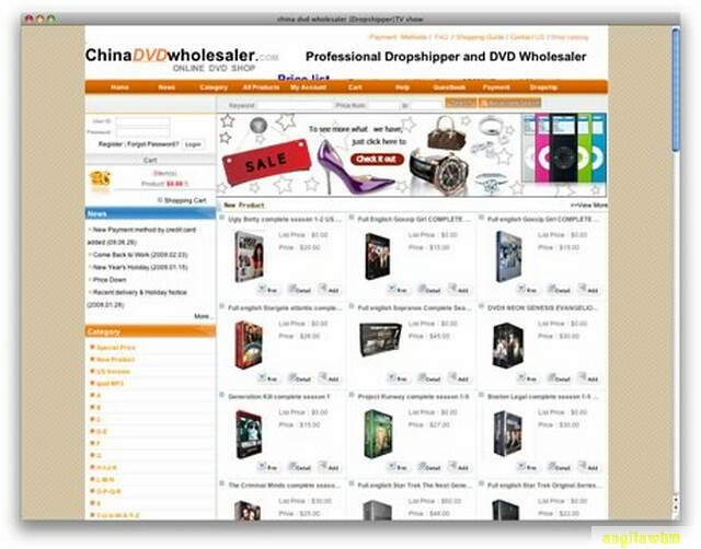 screen1 037 Páginas web para comprar barato en CHINA