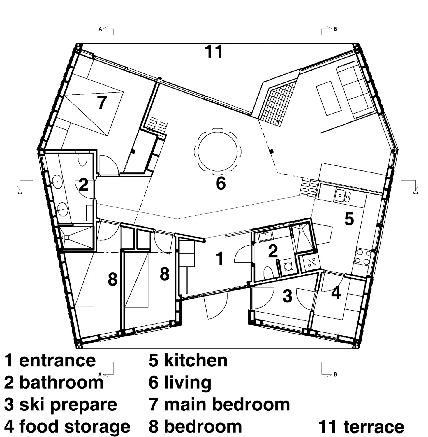 Custom Cabin Plans additionally Arch Rafter House Plans together with 342344009147576858 additionally Floor Plan 20 X 40 moreover 40 X 50 House Floor Plan Html. on 24x32 house floor plans