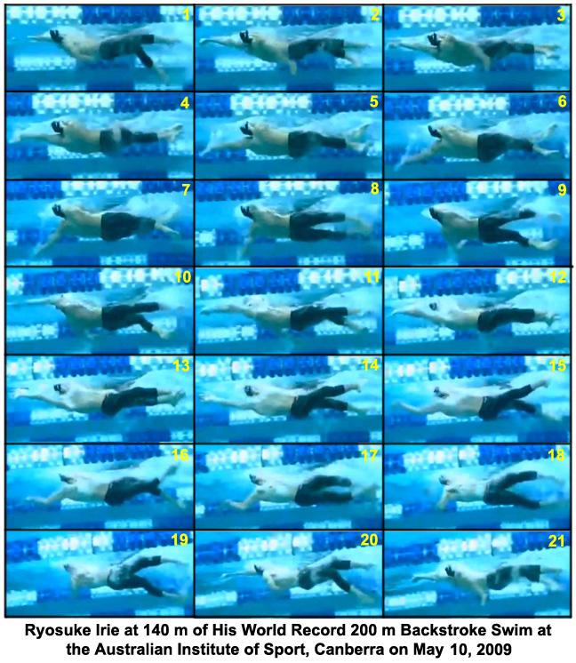 Ryosuke Irie's Backstroke