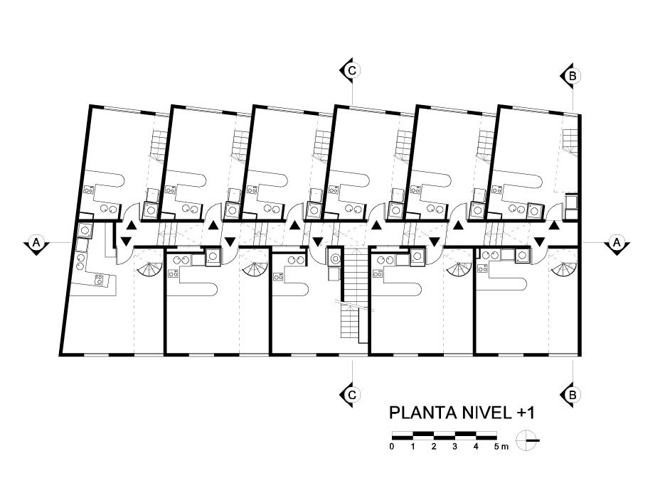 Vivienda Colectiva, Lofts Yungay, Rearquitectura, arquitectura, casas