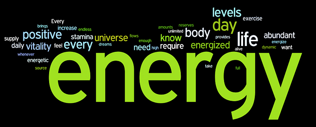 energy affirmations wordle