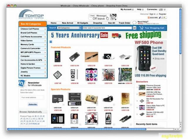 screen1 070 Páginas web para comprar barato en CHINA